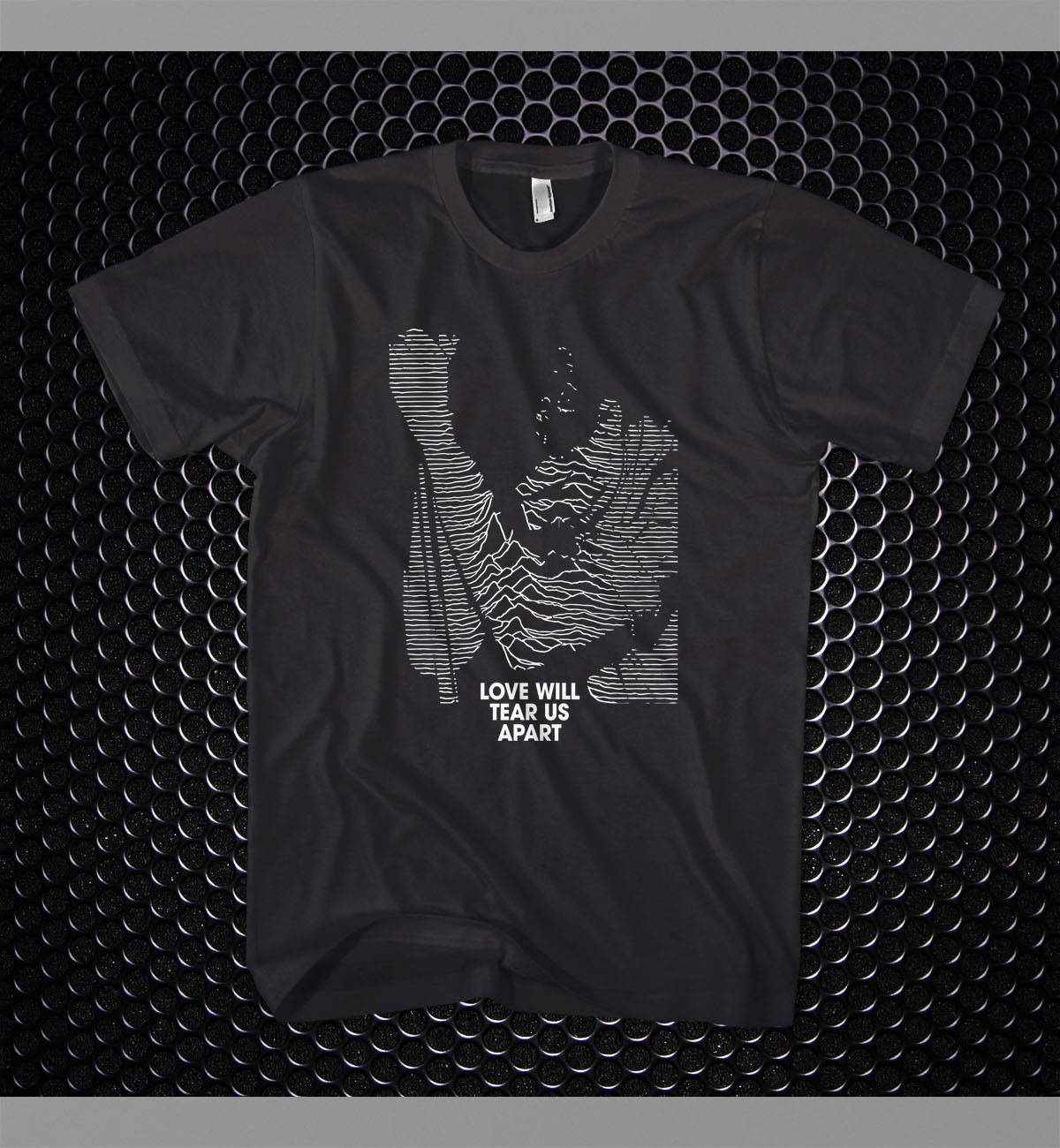 Joy Division Love Will Tear Us Apart Ian Curtis T-shirt In
